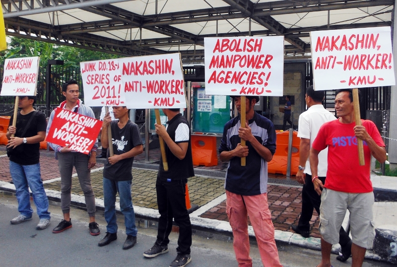 CPM_DAVAO WORKERS STRIKE